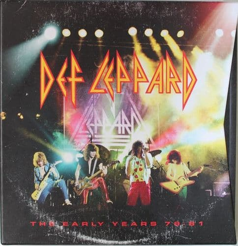 Def Leppard<br>The Early Years 79 - 81<br>Boxset, Comp + CD, RE, RM + CD, RE, RM